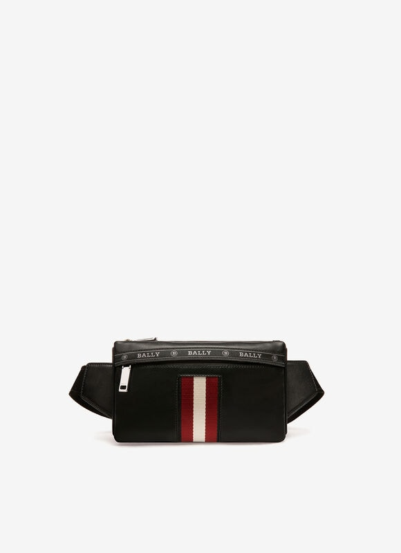 BLACK BOVINE Belt Bags - Bally