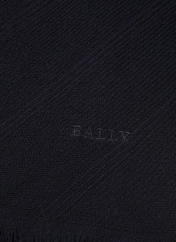 BLUE WOOL Scarves - Bally