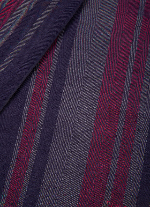 BLUE MIX SILK/WOOL Scarves - Bally