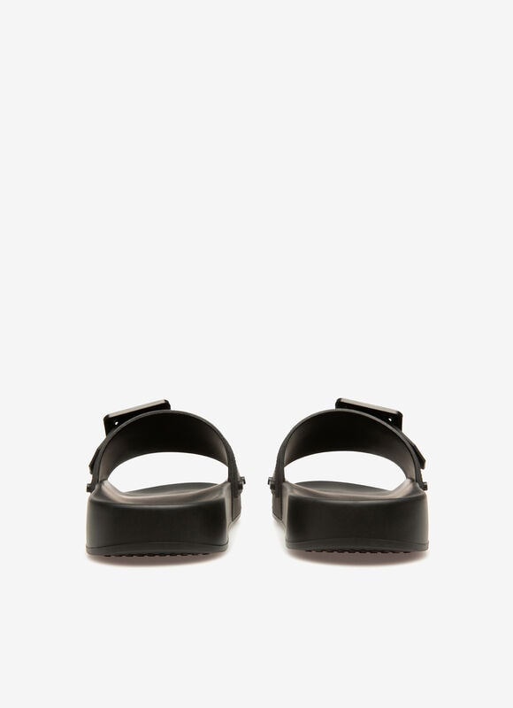 BLACK RUBBER Sandals - Bally