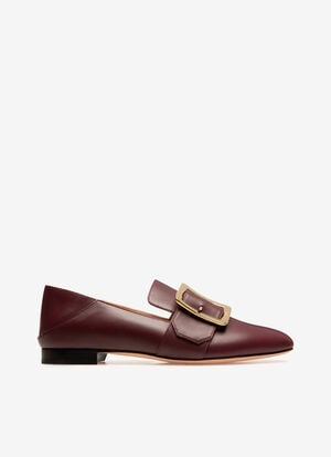 BROWN CALF Flats - Bally