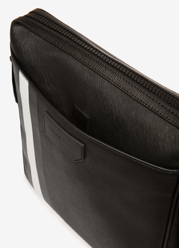 BLACK SYNTHETIC Messenger Bags - Bally