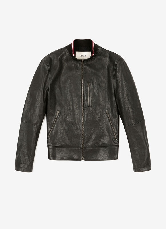 BLACK LAMB Leather - Bally