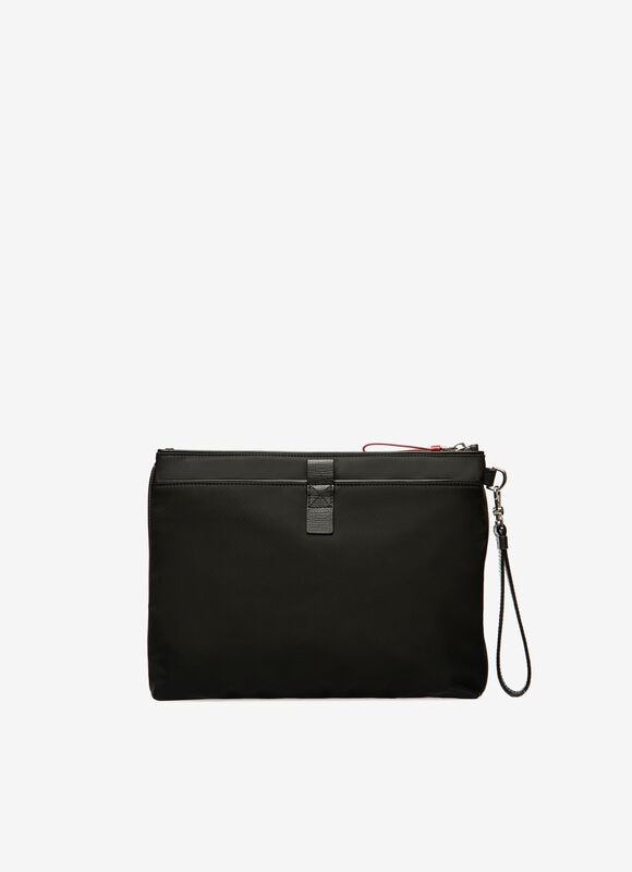 BLACK NYLON Clutches & Portfolios - Bally