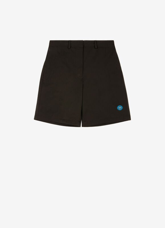 BLACK MIX POLYESTER Pants - Bally