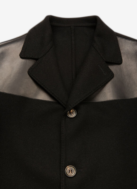 BLACK MIX WOOL Ready To Wear - Bally
