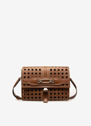 BROWN CALF Messenger Bags - Bally