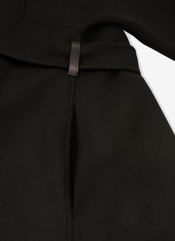 BLACK MIX WOOL Outerwear - Bally