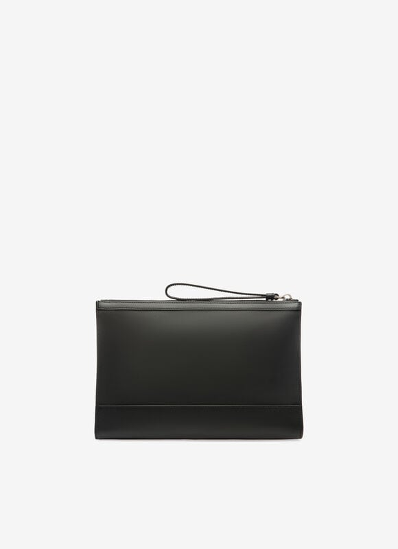 BLACK MIX COTTON/SYNT Clutches & Portfolios - Bally