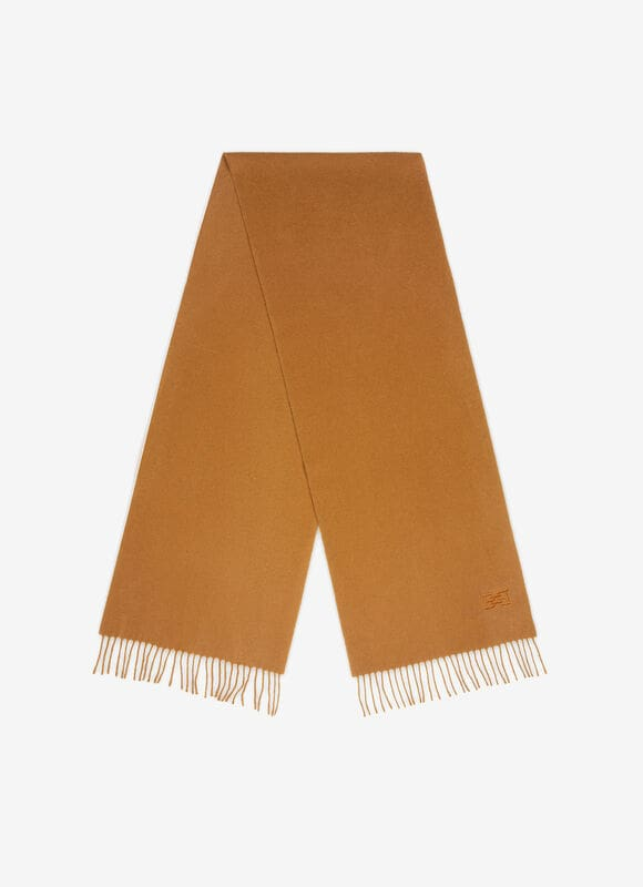 BROWN MIX WOOL Scarves - Bally