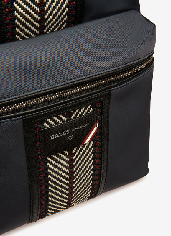 BLUE NYLON Backpacks - Bally