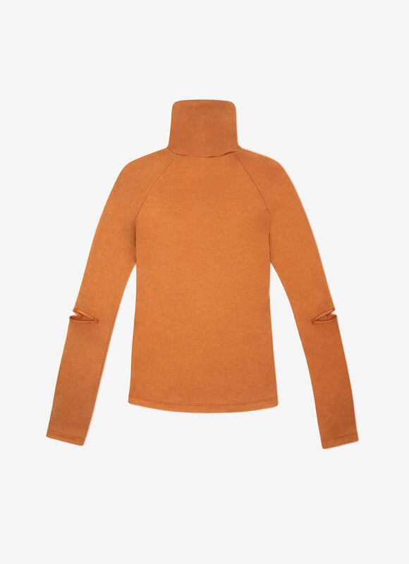 BROWN MIX WOOL Tops - Bally