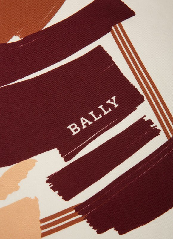 BURGUNDY SILK Scarves - Bally