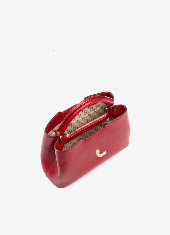 RED BOVINE Top Handle Bags - Bally