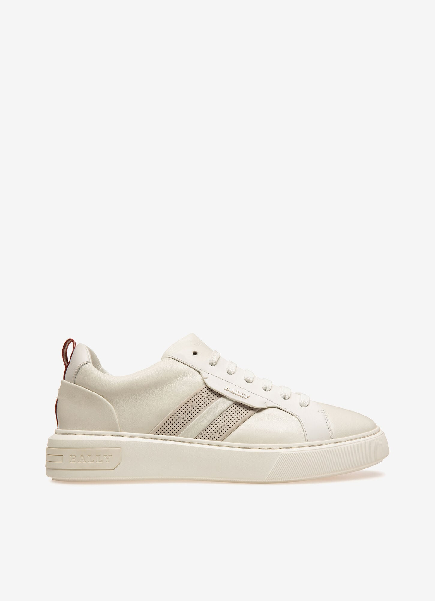 Maxim  Mens Sneakers   White Leather