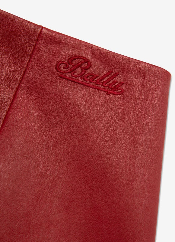 RED LAMB NAPPA Pants - Bally