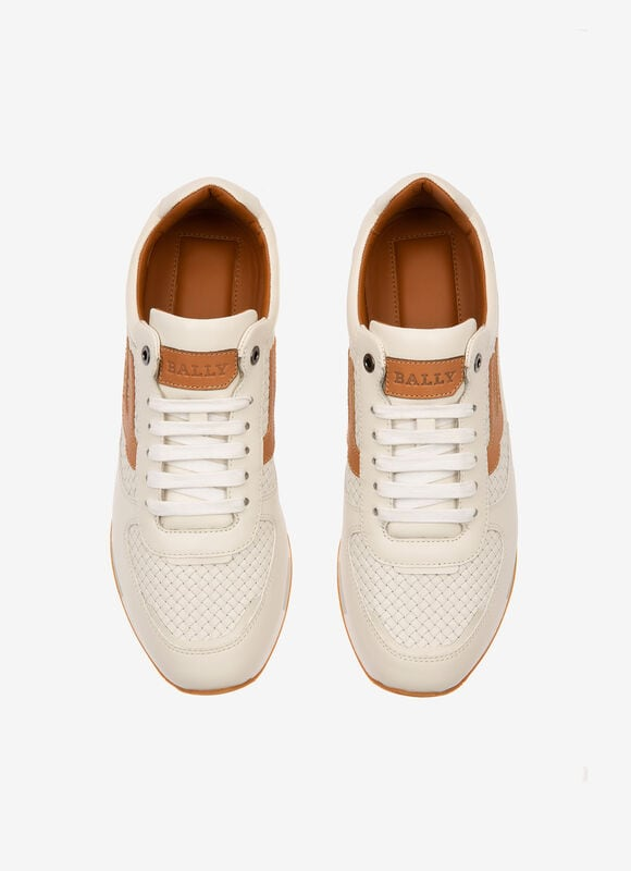 WHITE CALF Sneakers - Bally