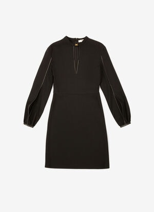 BLACK MIX VISCOSE Dresses and Skirts - Bally